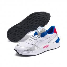 Chaussures Puma RS 9.8 Space Explorer blanc argent