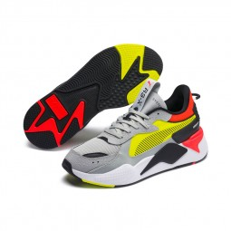 Chaussures Puma RS-X Tracks Drive gris, jaune, orange