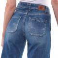 Jeans Justcara Le Temps des Cerises bleu délavé