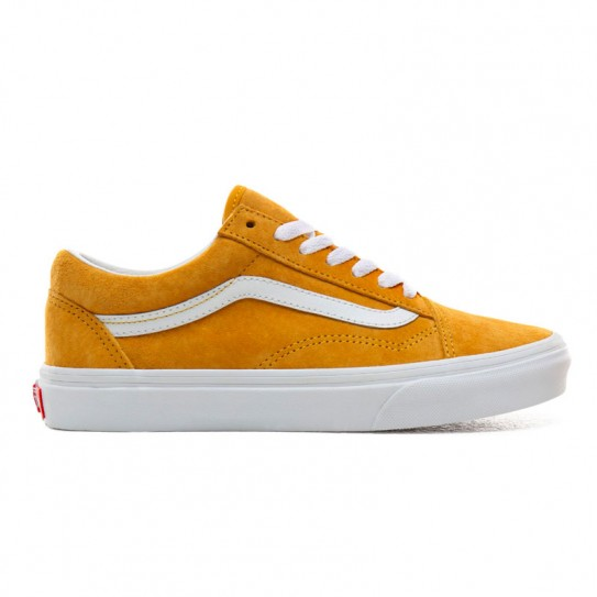 Chaussures Vans Old Skool (Pig Suede) daim jaune or
