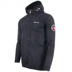 Veste zippée à capuche Ellesse Terrazzo noire