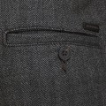 Pantalon chino à chevrons Jack & Jones gris