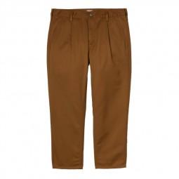 Pantalon Carhartt Abott Pant marron