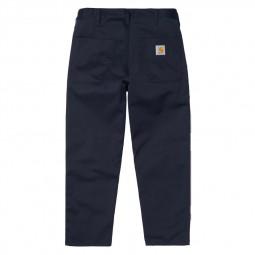 Pantalon Carhartt Abott Pant bleu marine