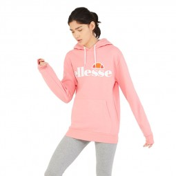 Sweat à capuche femme Ellesse Torices Oh Hoody rose