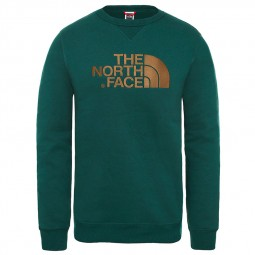 Sweat col rond The North Face Drew Peak vert foncé