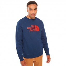 Sweat col rond The North Face Drew Peak bleu marine