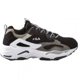 Chaussures Fila Ray Tracer homme noir, blanc, gris