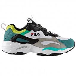 Chaussures Fila Ray Tracer homme noir, blanc, vert