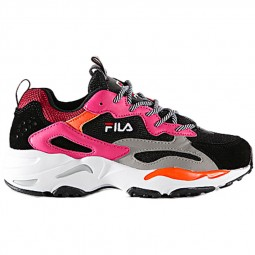 Chaussures Fila Ray Tracer femme noir, rose