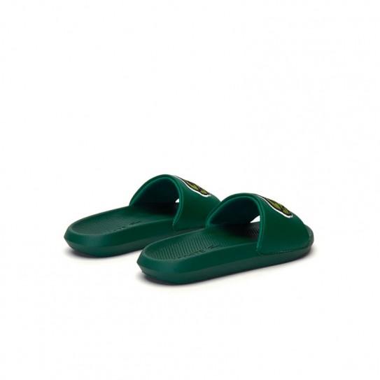 Claquettes Lacoste Croco Slide