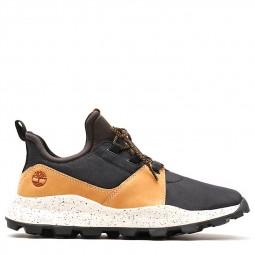 Chaussures Timberland Brooklyn noir camel