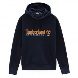 Sweat à capuche Timberland bleu marine