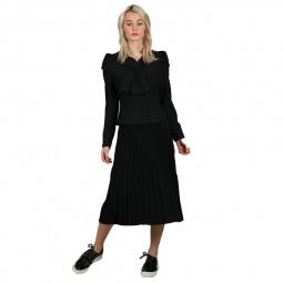 Jupe longue plissée Lili Sidonio noire
