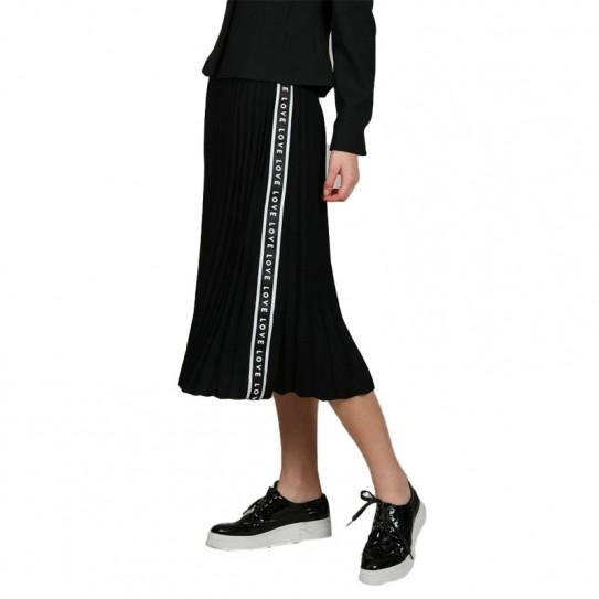 Jupe longue plissée Lili Sidonio