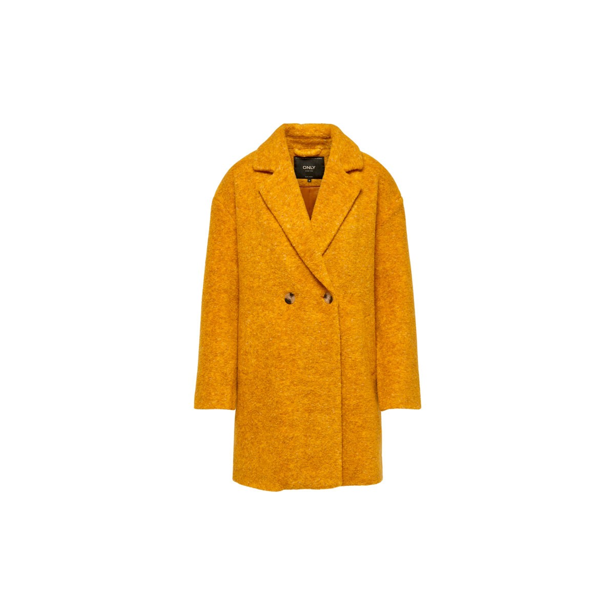 new arrivals online here competitive price Manteau long femme laine Only Nina Céleste jaune | Fred Aston
