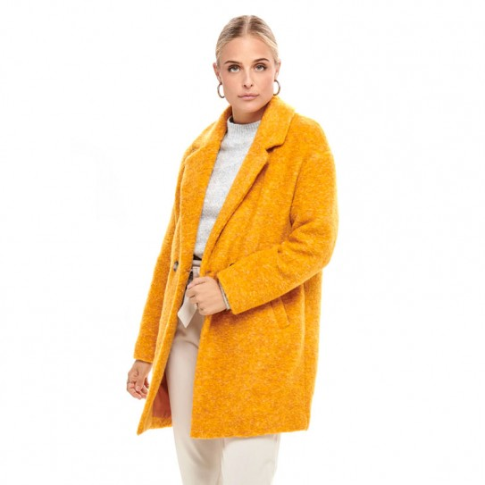 differently 100% top quality delicate colors Manteau en laine Only Nina Celeste