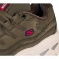 Chaussures Skechers femme Wave Dancer olive
