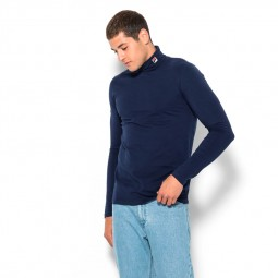 Pull col roulé Fila 19th Roll Neck bleu marine