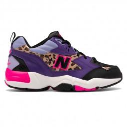 Chaussures New Balance femme 608V1 noir léopard