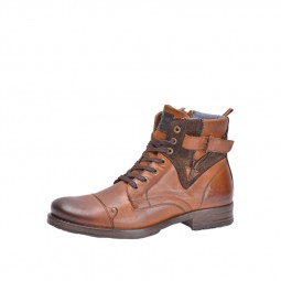 Chaussures Redskins Yero cuir marron