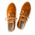 Chaussures Armistice Sonar Mid marron velours côtelé