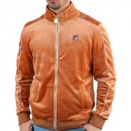 Veste Fila velours Lineker velours orange