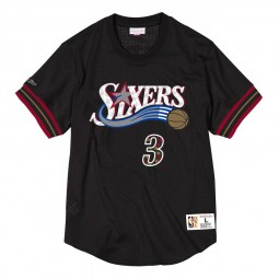Allen Iverson 76ers Philadelphie 3 noir