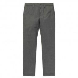Pantalon laine Carhartt Sid Pant gris chiné