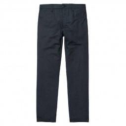 Pantalon laine Carhartt Sid Pant bleu marine