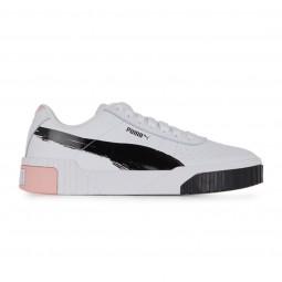 Chaussures Puma Cali x Maybelline blanc noir rose