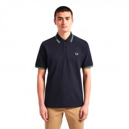 Polo Fred Perry M12 bleu marine