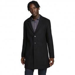 Manteau Jack & Jones Moulder Wool Coat noir