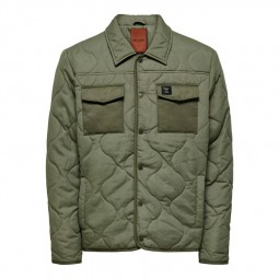 Veste Only & Sons Rain Jacket kaki