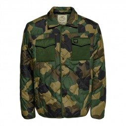 Veste Only & Sons Rain Jacket camouflage
