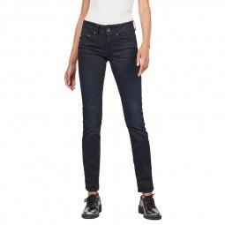 Jeans G-Star Midge Straight brut délavé