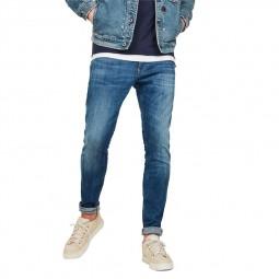 Jeans G-Star Revend skinny bleu délavé