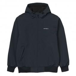 Blouson Carhartt Hooded Sail Jacket bleu marine