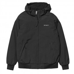 Blouson Carhartt Hooded Sail Jacket noir