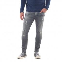 Jeans Le Temps Des Cerises gris troué