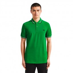 Polo Fred Perry I64 vert électrique