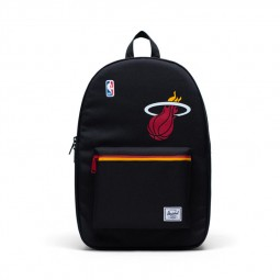 Sac à dos Herschel x NBA Settlement Miami Heat noir