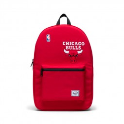 Sac à dos Herschel x NBA Settlement Chicago Bulls rouge noir