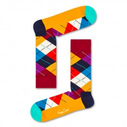 Chaussettes Happy Socks Argyle multicolores