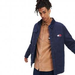 Veste boutonnée Tommy Hilfiger Workwear Jacket bleu marine