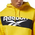 Sweat à capuche Reebok Vector jaune