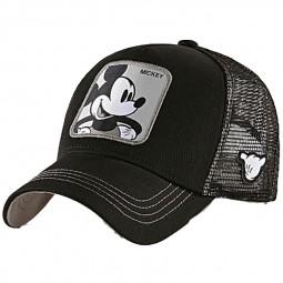 """Casquette Capslab Disney """"Mickey"""" noir gris"""