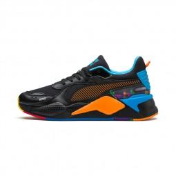 Chaussures Puma RS-X Tetris noires