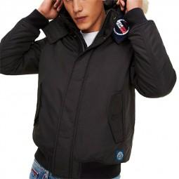 Blouson Tommy Hilfiger Tech Jacket noir