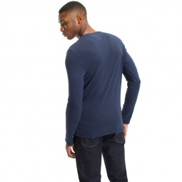 T-shirt Manches Longues Tommy Hilfiger bleu marine
